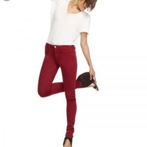 Joe's Jeans Ruby Red The Skinny stretch Jeans, 26